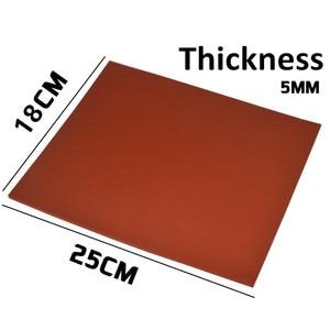 1pcs 5mm , 18cm*25cm OCA vacuum laminating machine silica gel pad level of ultra soft silicone pad foam adhesive gasket mat(China)
