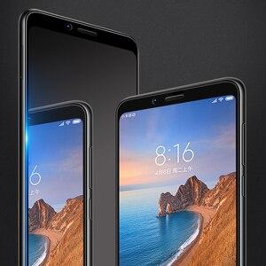 Image 2 - Xiaomi redmi 7A Screen Protector Volledige Cover Mofi redmi 7a Gehard Glas Ultra Clear Front Beschermende 9H 2.5D 7A screen Glas