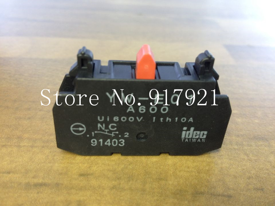 [ZOB] The original Japanese IDEC and YW-E01 button contact contact switch NC --30PCS/LOT