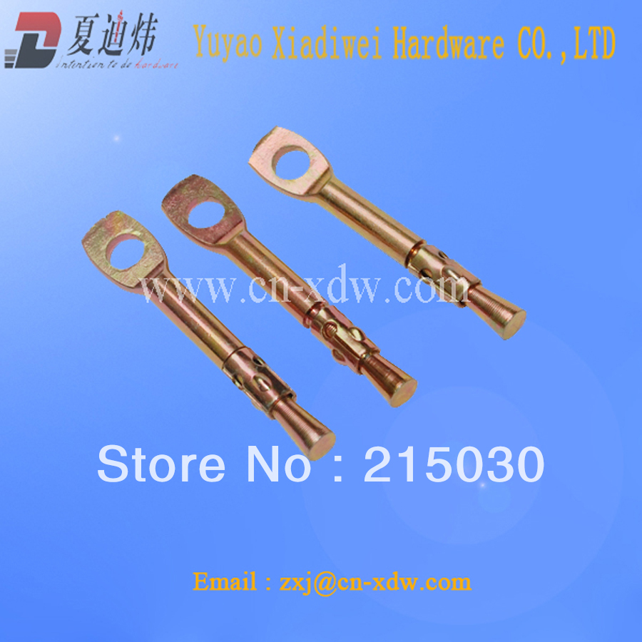 Made in China concrete anchor hilti anchors hook bolts zinc alloy ...