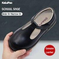 Туфли с Т-образной застежкой на щиколотке  модные детские кроссовки без шнуровки  кожаные туфли для девочек  размер 28-39  2019