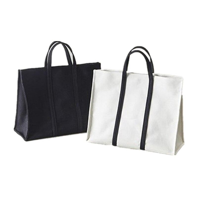 Nouveau Femmes Toile Fourre-Tout Sac De Mode Japon Tissu Réutilisable Shopping Sac Loisirs Épaule Grande Capacité Eco shopper Sacs