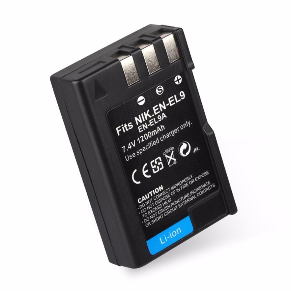 Jhtc Batterie En El9 Für Nikon En-el9a D40 D60 D40x D5000 D30 Batterie 1300 Mah En-el9 Akkus En-el9a Batterien Stromquelle