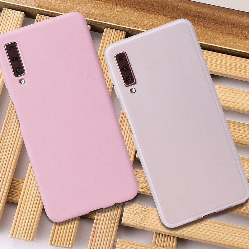 S10e Matte Solid Cover Case For Samsung Galaxy S10e S10 Plus S9 S8 S7 Edge Note 9 8 Silicon TPU Soft Cases For Samsung S10 Plus