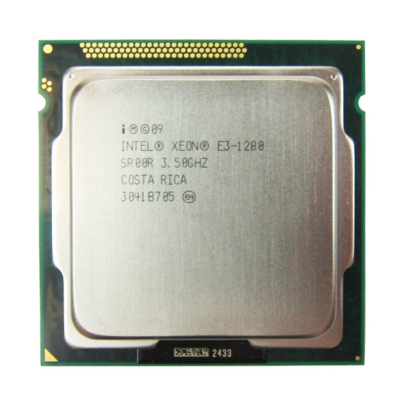 Intel Xeon <font><b>E3</b></font> <font><b>1280</b></font> 3.5GHz SR00R Quad Core LGA 1155 CPU Processor image