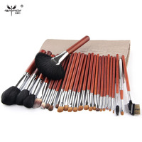 Anmor 26PCS Luxuriant Makeup Brushes Set Foundation Eye Brush Full Facial brushes with Brush Bag Professional Makeup Tool