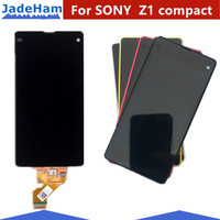 Display For SONY Xperia Z1 compact LCD Touch Screen Digitizer For SONY Xperia Z1mini LCD D5502 D5503 M51W Touch Display