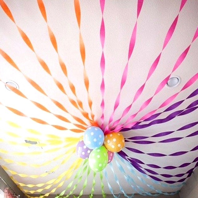Hot 1 Roll 510m DIY Crepe Paper Streamer Roll Wedding Birthday