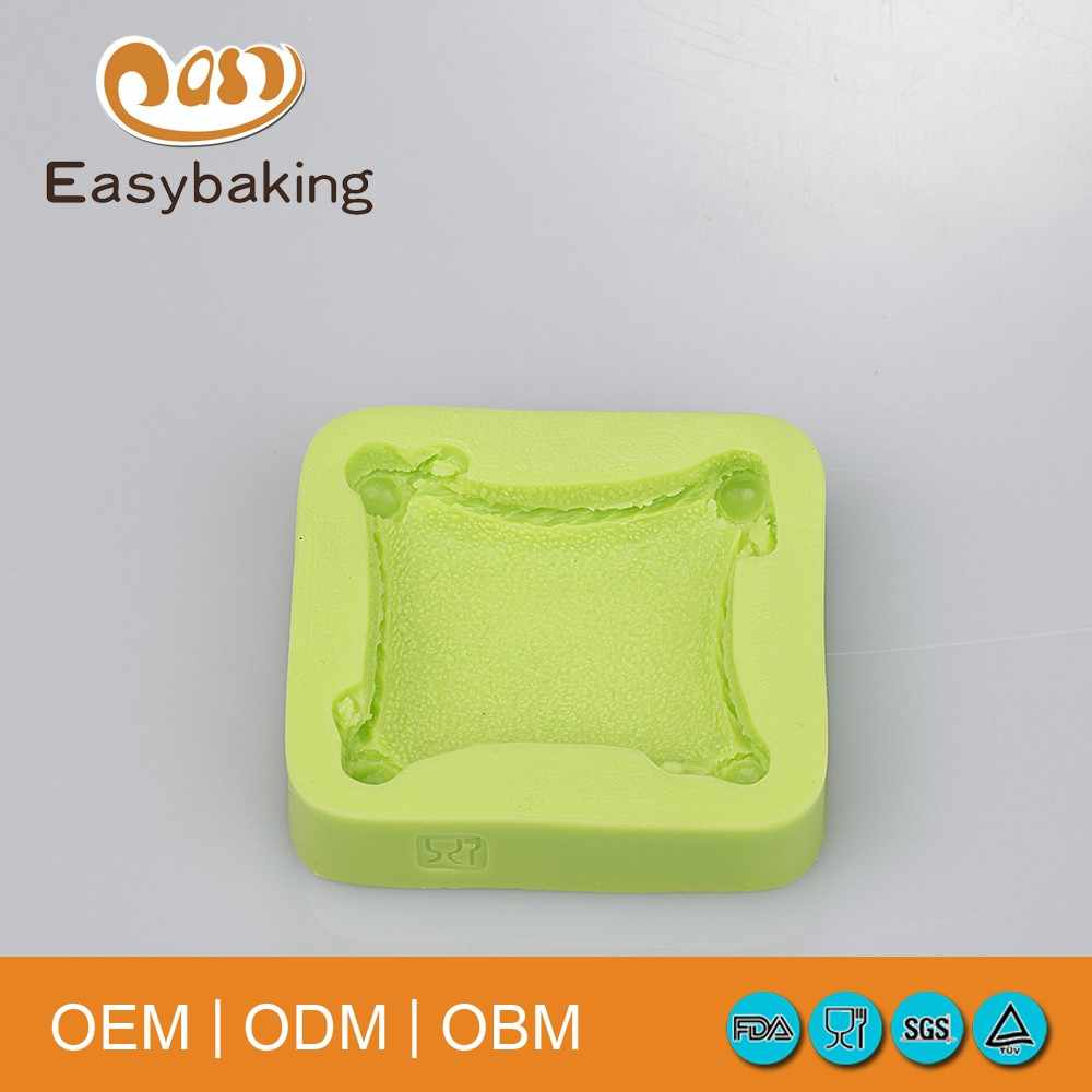 Новое поступление Дизайн в Подушки Детские Форма 3D силиконовые формы шоколадная помадка Мыло формы для украшения торта