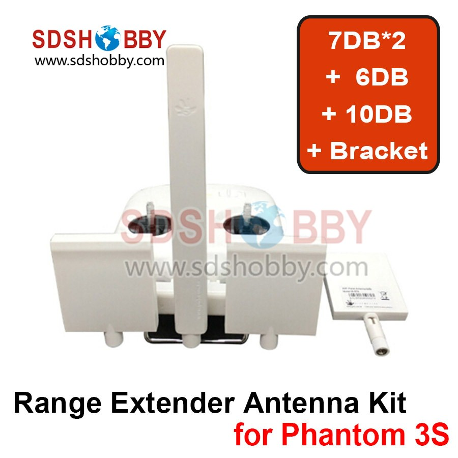 Remote Controller Antenna Refitting Combo Long Range Antenna Range Extender for DJI Phantom 3 Standard
