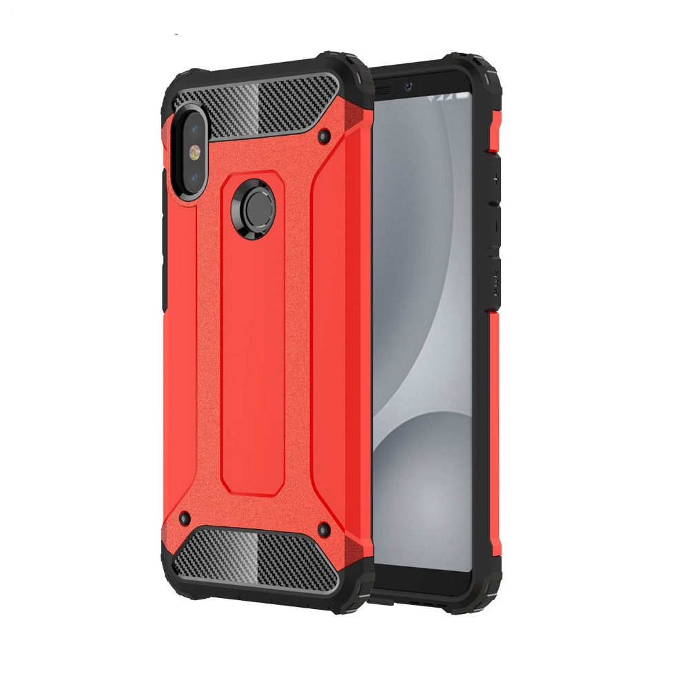 Case for Xiaomi Redmi Note 5 Pro Global A2 Case Plastic 2 in 1 Hybrid - Բջջային հեռախոսի պարագաներ և պահեստամասեր - Լուսանկար 5