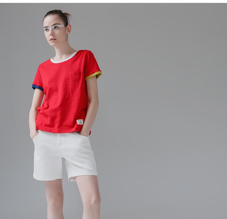HTB1VuU5PpXXXXcTXpXXq6xXFXXXR - T Shirt Women Short Sleeve O-Neck Cotton