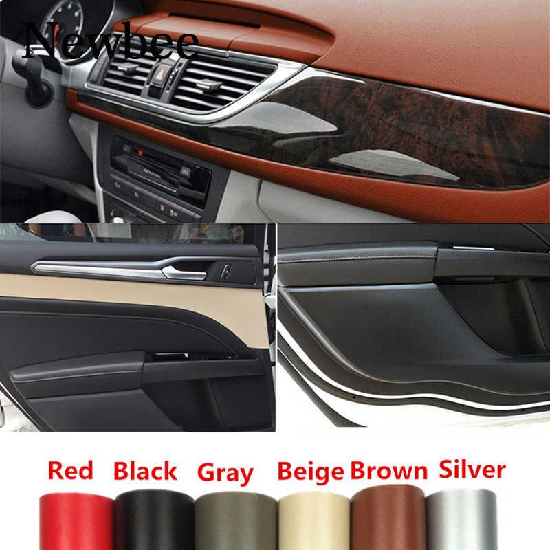 152cm voiture style décoration intérieure Film Automobile moto décalque Wrap tableau de bord corps autocollant en cuir motif vinyle bricolage PVC