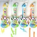 2016 Venda Quente Guitarra Musical Eletrônico Cedo Brinquedos Educativos Da Criança Para O Jogo de Música Do Bebê