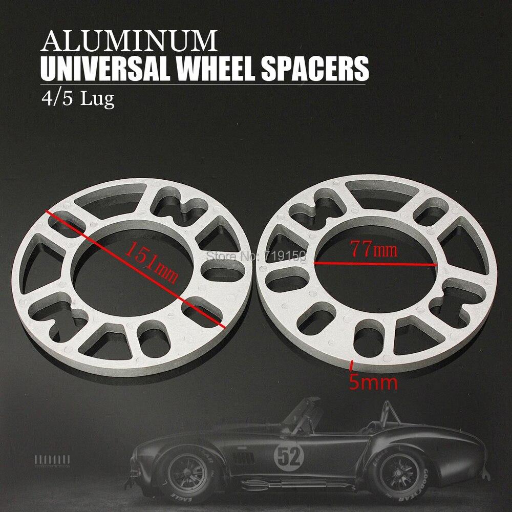 10mm CAR ALLOY WHEEL SPACERS ADAPTOR PLATES SHIMS 4 /& 5 STUD Volkswagen Fit