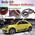 Deflector pára Lábio Lábios Para Volkswagen VW New Beetle Bjalla Spoiler Dianteiro saia Para Os Fãs de TG Carro Tuning Ver/Body Kit/Strip