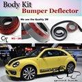Lip Deflector Lippen Für Volkswagen VW New Beetle Bjalla Frontspoiler rock Für TG Fans Auto Tuning View/Body Kit/Streifen