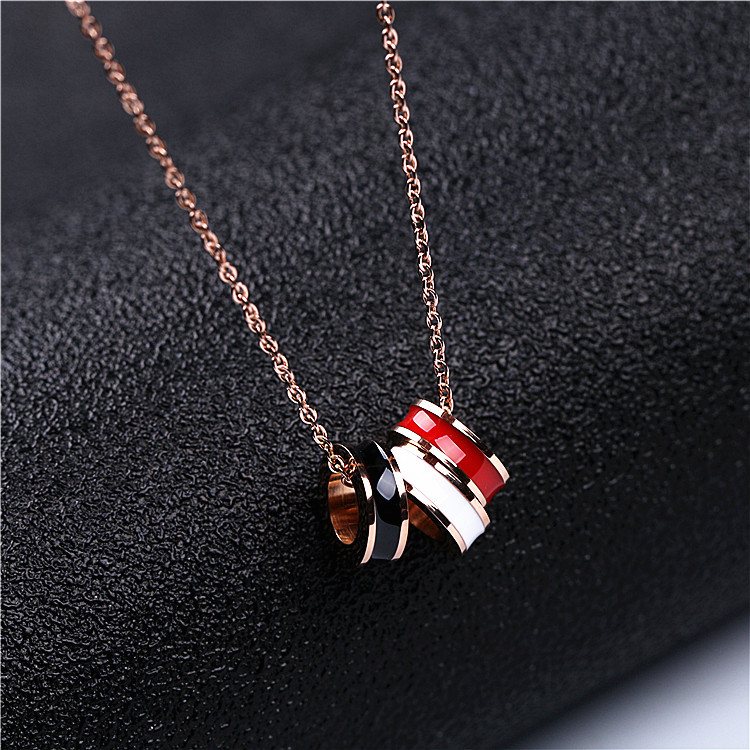 Allure Necklace Female Chocker Collarbone Chain White Simple Temperament Necklace