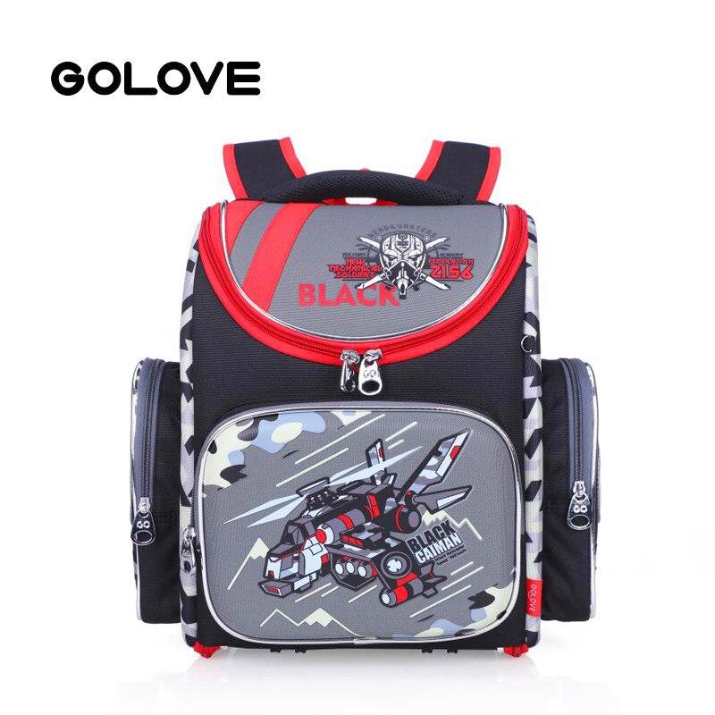 2c23c67ab70f Школьные рюкзаки для мальчиков камуфляж истребитель детская школьная сумка ортопедический  рюкзак прочный Mochila Escolar класс 1