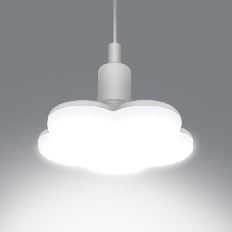 <font><b>E27</b></font> <font><b>LED</b></font> <font><b>Bulb</b></font> Plum Blossom Shape Light Downlight Lamp 15W <font><b>18W</b></font> 24W 36W Super Bright <font><b>e27</b></font> Ceiling Lights For Living Room Bedroom image