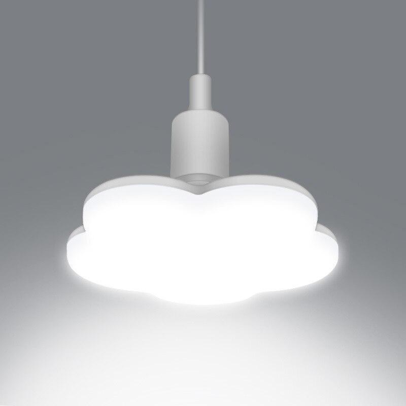 E27 Plum Blossom Forma Lâmpada LED Lâmpada de Luz Downlight 15W 18W 24W 36W Super Brilhante e27 luzes de teto Para Sala de estar Quarto