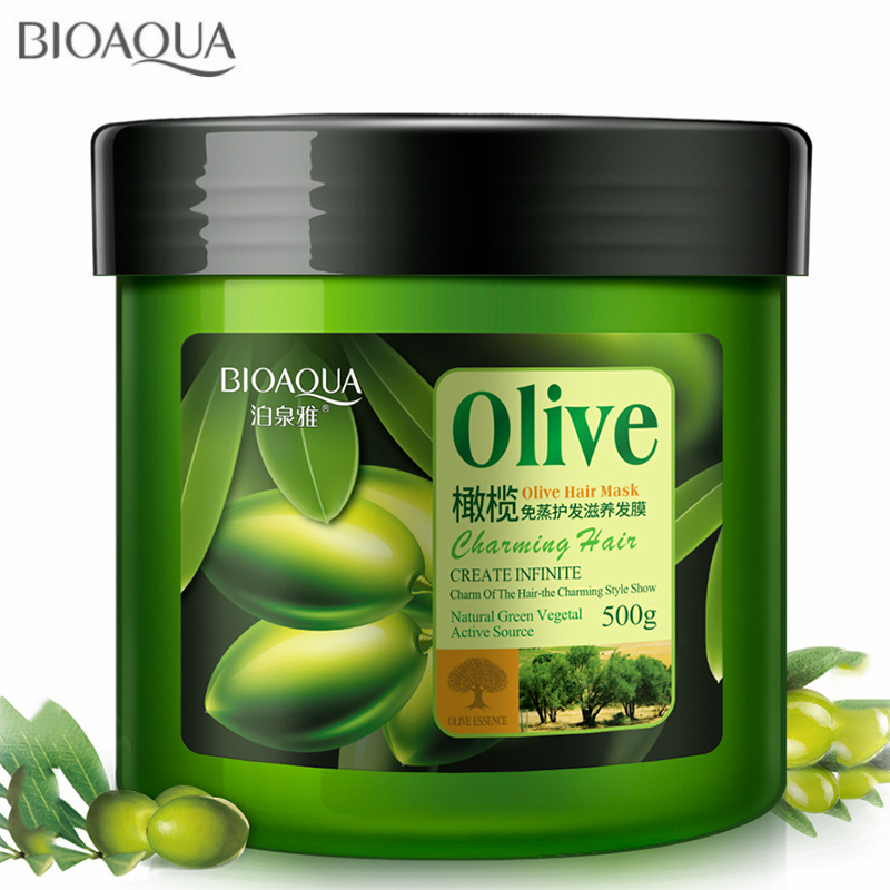 Natural Hair Care Product Olive Oil Hair