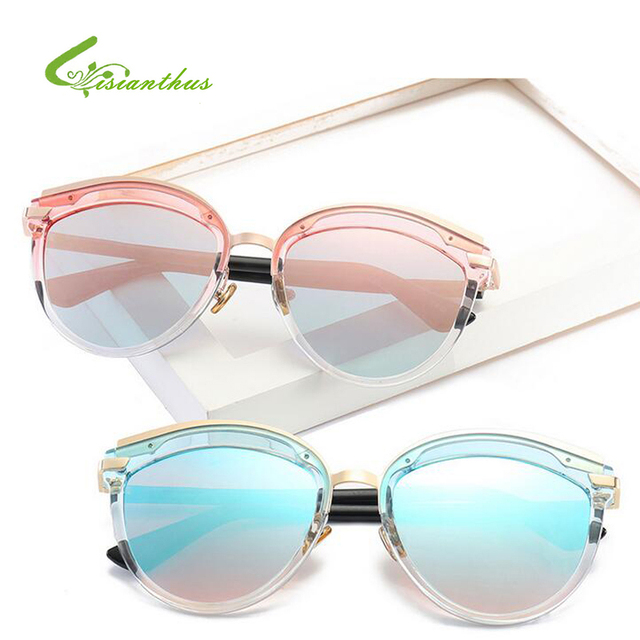 e907cde24dc Fashion Sunglasses Women Retro Designer Super Round Circle Glasses Cat Eye  Women s Sunglasses Men Glasses Goggles gafas De Sol