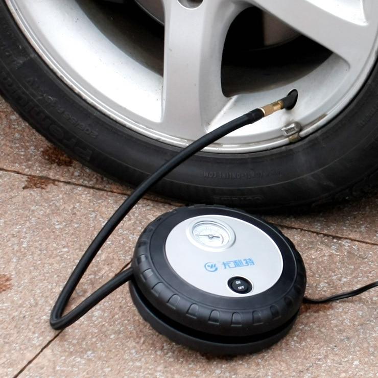 7026 мини-автомобиля надувные насос портативный хитом электрический велосипед испаряется насос