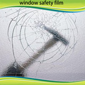 Mil película de seguridad claro antirrobo ventana de seguridad rollo 60 pulgadas x33ft oficina del hogar del coche