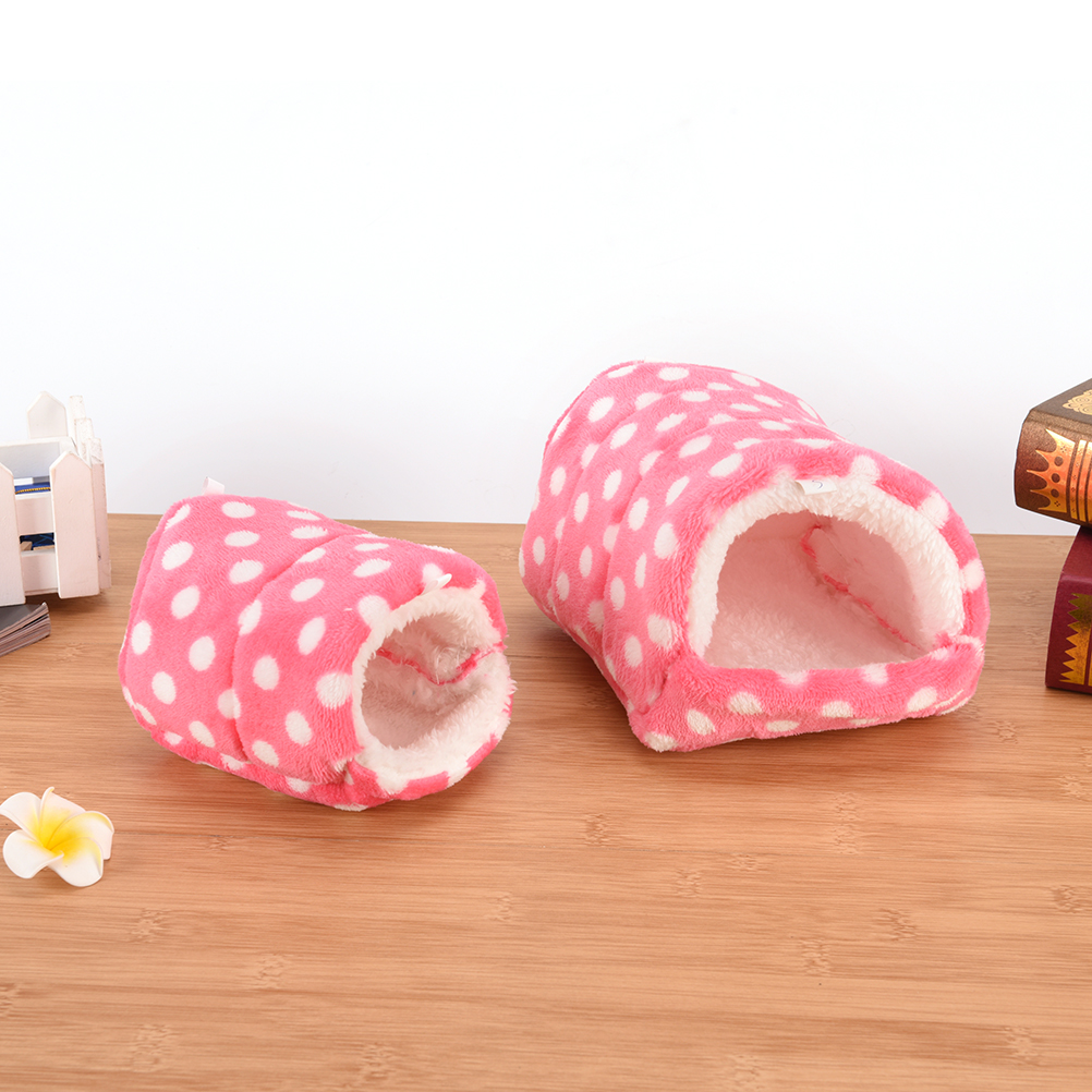Pig/cat/dog Chinchillas Squirrel Bed Nest Hamster House Cage Accessories Mini Animals Hamster Bed Cotton Pet Nest #3