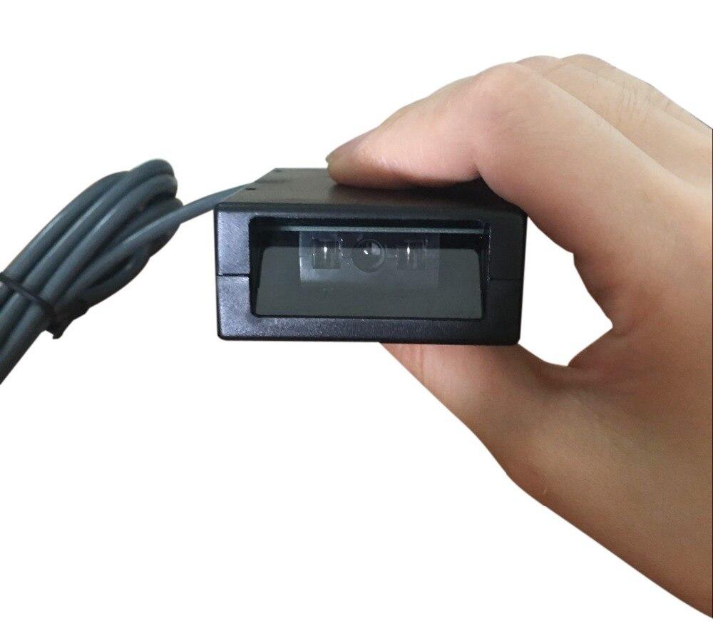 Встроенный сканирования на платформе фиксированной сканер штрих-кода встроенный модуль красный CCD