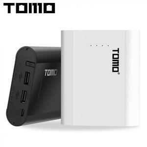 Image 1 - TOMO P4 USB Li ion akıllı pil şarj aleti akıllı DIY cep taşınabilir güç kaynağı kılıfı desteği 4x18650 piller ve çift çıkışlı