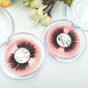 Customized Lashes Packaging Box Custom Logo Cards For 3D Mink Strips Volume Eyelash Individual Eyelashes Extensions