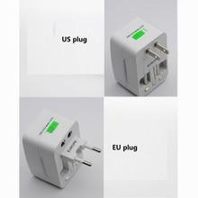 5pcs/lot USB All in one Travel AC Power Adapter US UK AU EU Plug Socket Electrical Socket Travel Universal Adapter Converter все цены