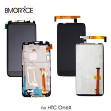 For HTC ONE X ONEX G23 XL AT T S720e LCD Display Touch Screen Digitizer  Assembly Replacement With/No Frame Original цена в Москве и Питере