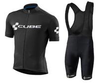 2018 New Pro Team Cube Cycling Jersey Ropa Ciclismo Quick Dry Sports Jersey Cycling Clothing 16