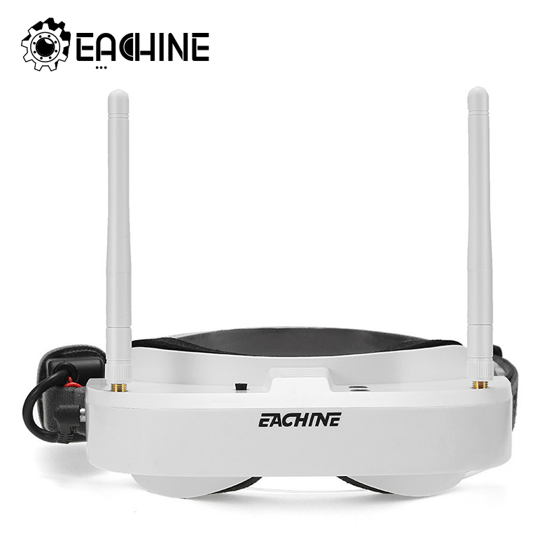 Eachine EV100 720*540 5,8g 72CH FPV gafas con antenas duales ventilador 7,4 V 1000 mAh batería