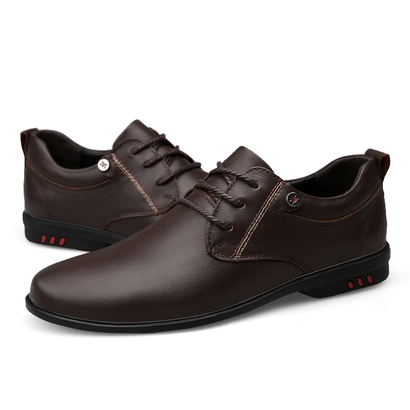 46 Black Da Moda C4 Formais Dedo Tamanho Pé Do Redondo Casuais brown Dos Calçados Homens Escritório Couro Negócios Confortáveis Apartamentos 37 Sapatos De tqRZHR1wg