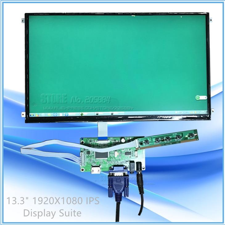 Écran d'ordinateur portable + EDP carte contrôleur Driver Kit VGA/HDMI Connecteur À Bord