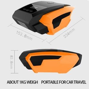 Image 2 - اكسسوارات السيارات ضاغط هواء للسيارة 12V مضخة نفخ LED ضغط الوقت الحقيقي السيارات مضخات هواء العالمي سيارات صغيرة الكهربائية