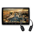 10.1 polegadas 1024*600 Monitor de Encosto de Cabeça Do Carro DVD Player Embutido Lente Hitachi FM Porta USB SD HDMI TFT LCD Tela sensível ao toque
