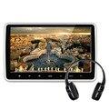 10.1 pulgadas 1024*600 Coche Reposacabezas Monitor Reproductor de DVD Incorporado de Hitachi Lente USB SD Puerto HDMI FM TFT LCD Pantalla táctil