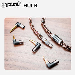 DUNU Hulk-Upgrade-Cable Earphone AUDIO MMCX 4-Connectors HIFI for IME 2-Pin