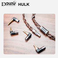 DUNU HULK Upgrade Cable for HIFI AUDIO Earphone IME Detachable MMCX 2 Pin 0.78mm/QDC Plug with 4 connectors 3.5/2.5/3.5pro/4.4mm