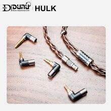 DUNU HULK yükseltme kablosu HIFI ses kulaklık IME ayrılabilir MMCX 2 Pin 0.78mm/QDC tak 4 konnektörler 3.5/2.5/3.5pro/4.4mm