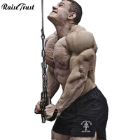 New 2014 Summer Brand High Quality Gym Shorts For Men Bodybuilding Basketball Fitness Shorts For Man