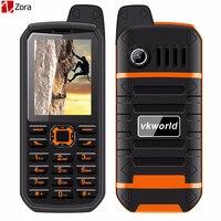 2 4 Vkworld Stone V3 Plus Mobile Phone 4000mAh Big Battery Waterproof Phone Dust Proof Anti