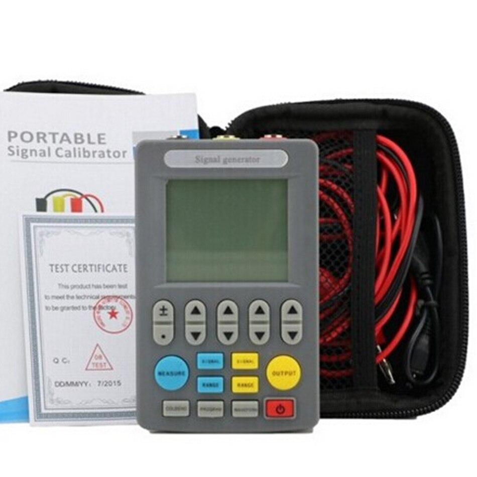 Calibrage de Valve de PLC d'émetteur de Source de générateur de Signal de courant de SIN-C702 Signal 4-20mA/0-10 V