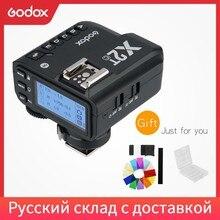 Беспроводной трансмиттер Godox, беспроводной триггер-передатчик для Nikon, Sony, Canon, Fuji, Olympus, с поддержкой TTL, 1/8000s, с функцией Flash, с функцией триггер...