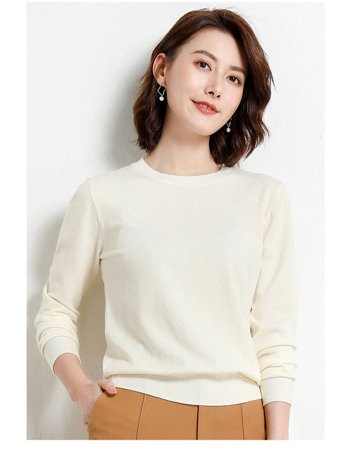 Yellow Cashmere Sweater For Women Sweaters Female Pink Wool Winter Woman Sweater Knitting Pullovers Knitted Sweaters Jumper 2019 23